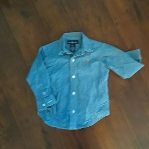 Polo Ralph Lauren Chambray Button front Shirt 2T